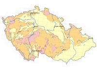 Radonová mapa ČR