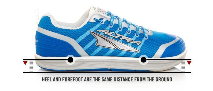 Altra Torin with a small drop or what they note as ZERO DROP