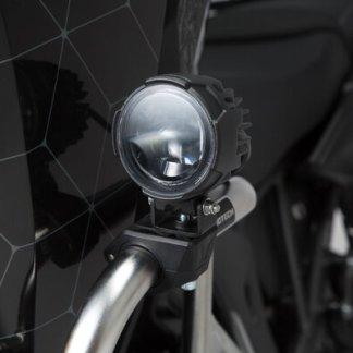 Pour montage sur crashbars ou autres composants ayant un diamètre adéquat