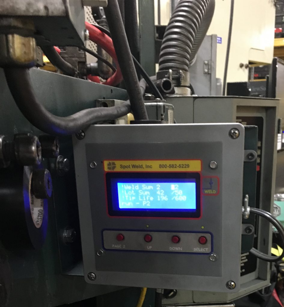 hight resolution of weld counter