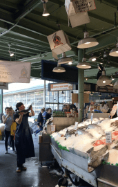 Family Travel Guide – Seattle: Pike Place Market / City Fish Market / Flying Fish – Spousesproutsandme.wordpress.com