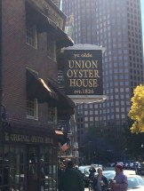 Travel Guide: Boston on a Budget - Union Oyster House - www.spousesproutsandme.com