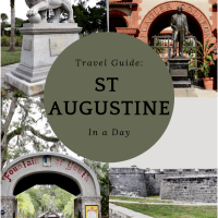 Travel Guide: St. Augustine, FL in a Day