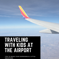Traveling with Kids at the Airport
