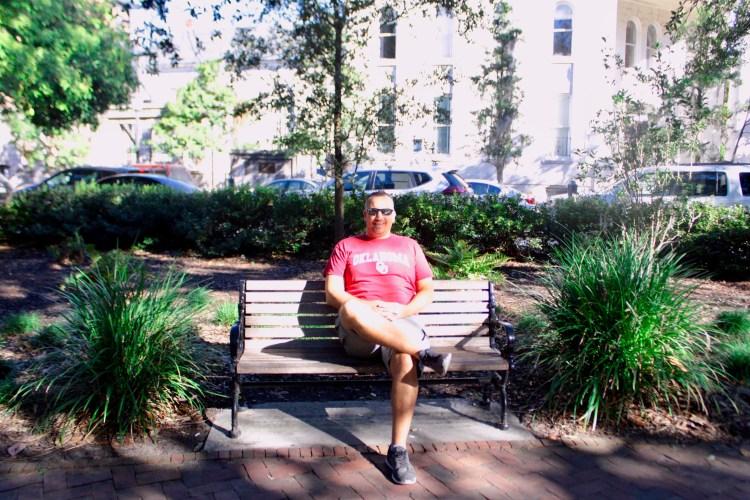 Travel Guide: Savannah, GA - Chippewa Square - www.spousesproutsme.com