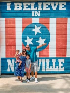 I believe in Nashville Mural - Nashville Travel Guide - www.spousesproutsme.com