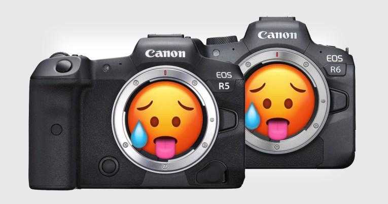 Перегрев Canon EOS R5 и R6