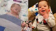 9-месячный ребёнок перенёс за сутки 25 сердечных приступов. Но он выжил и сейчас здоров!