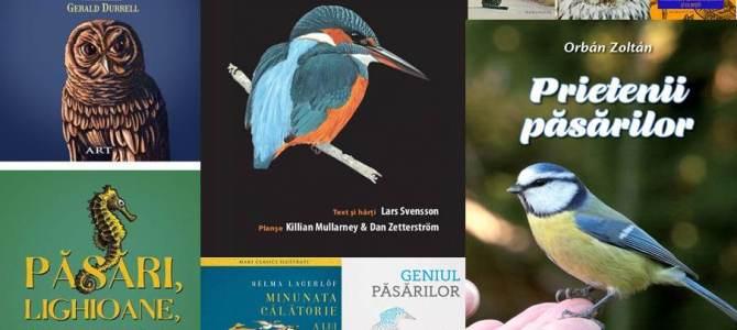 Cărțile despre păsări și natură: cel mai bun cadou de sărbători