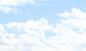 widok  chmur