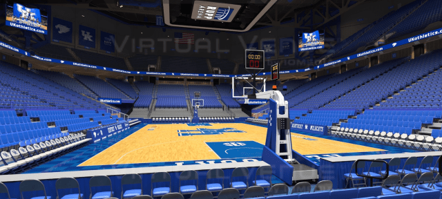 seat view at rupp arena