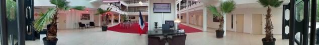 centre de conférence entrée et salles de formation