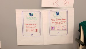 "Team Global Access Storyboards on ""U Concierge"" global access app"