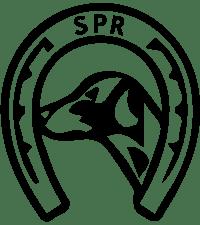 Sportsrideklubbens logo