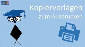 Arbeitsblätter und Kopiervorlagen Deutsch als Fremdsprache