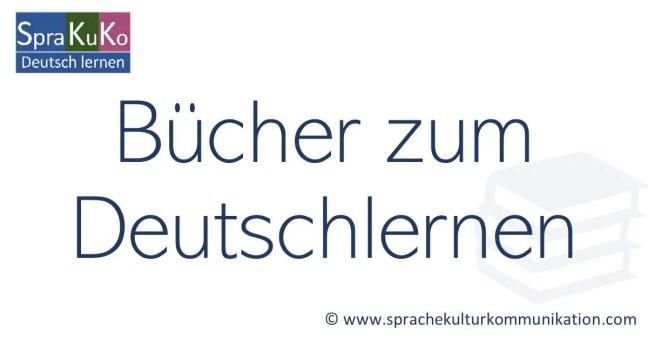 Bücher zum Deutschlernen für Erwachsene