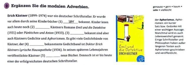 Grammatik mal vier - Textsorte: Biografischer Text