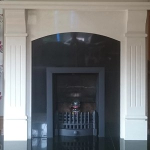 Black Granite Insert with Black Trim