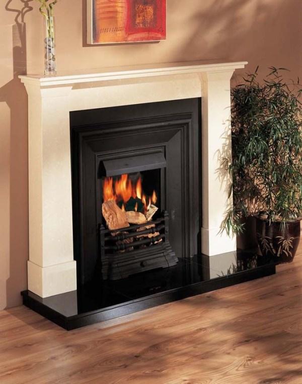 Darwin Marble Fireplace