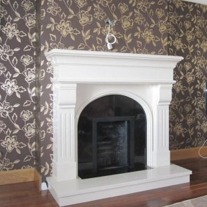 Monte Carlo marble Fireplace