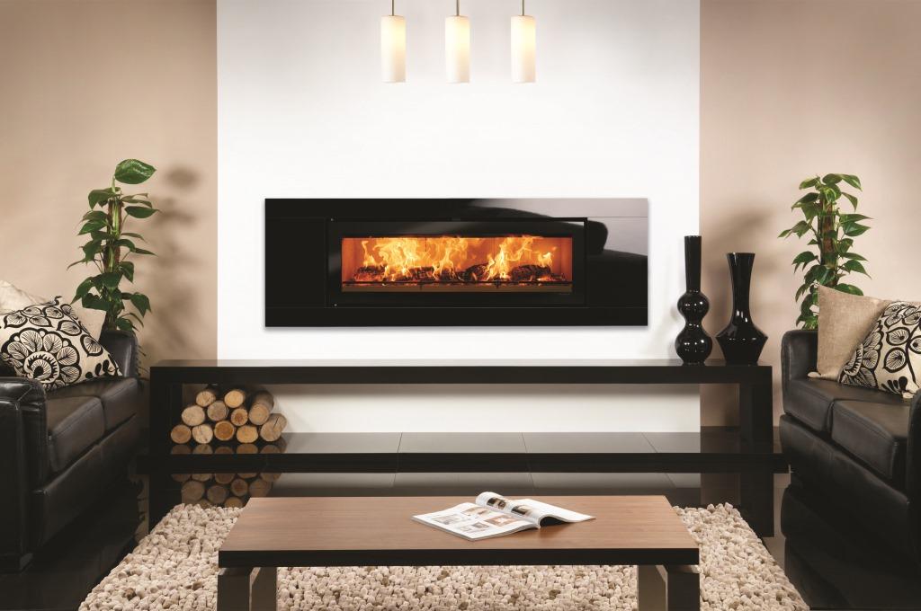 Riva Studio 3 Freestanding Wood Burning Stove Fireplace