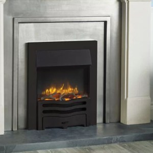 Logic2-Electric-Wave-with-Matt-black-frame-and-front-with-log-fuel-effect