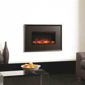 Gazco Riva2 670 Evoke Steel Electric Fire