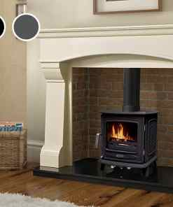 The Ascot 5kW stove brings the best of modern technology and traditional looks to the Henley range.