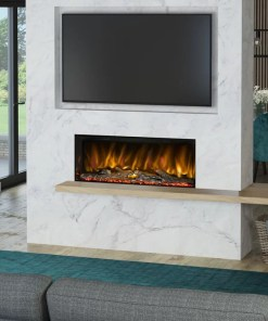 Elgin and Hall Arteon 1000 3-SIDED ELECTRIC FIRE