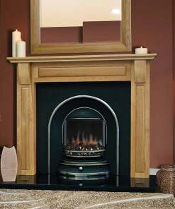 Torino Solid Oak Fireplace