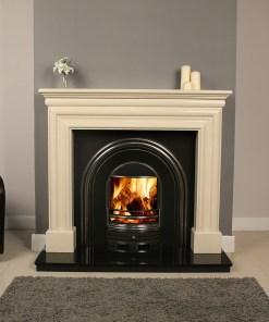 Celeste Marble Fireplace Surround