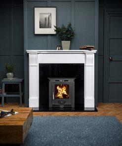 Paros Marble Fireplace Surround