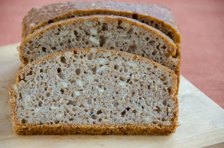 Chleb zytni ze slonecznikiem