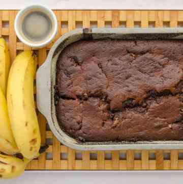 lepki chleb bananowy