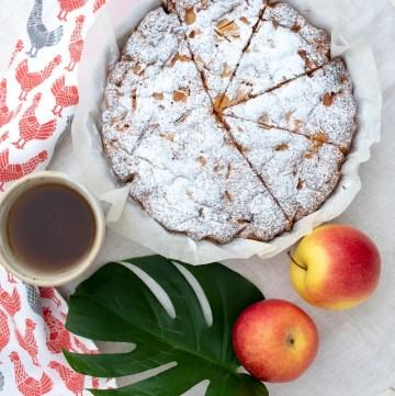ciasto z jablkami francuskie