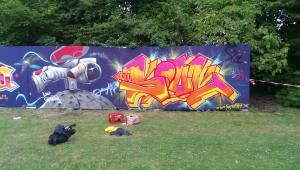 Graffiti in space