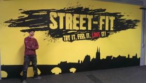 Graffitiauftrag Street-Fit Logo