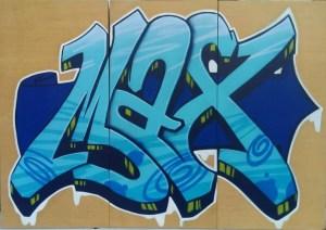 Graffitiauftrag Max