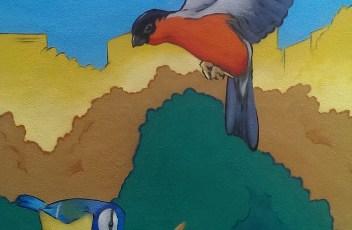 graffiti hamburg fruchtallee vögel