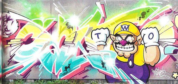 Beispiel Graffiti CanTwo