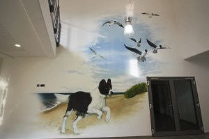 Trixie Graffiti Auftrag Tarp Flensburg Gesamt