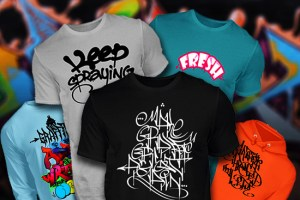 Graffiti Shirts Banner
