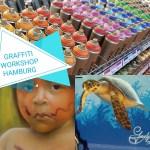 (2019) Sprüh- und Graffiti-Workshop 6.+7. Juli in Hamburg