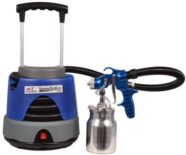 Earlex HV5500 Spray Station Paint Sprayer: Review