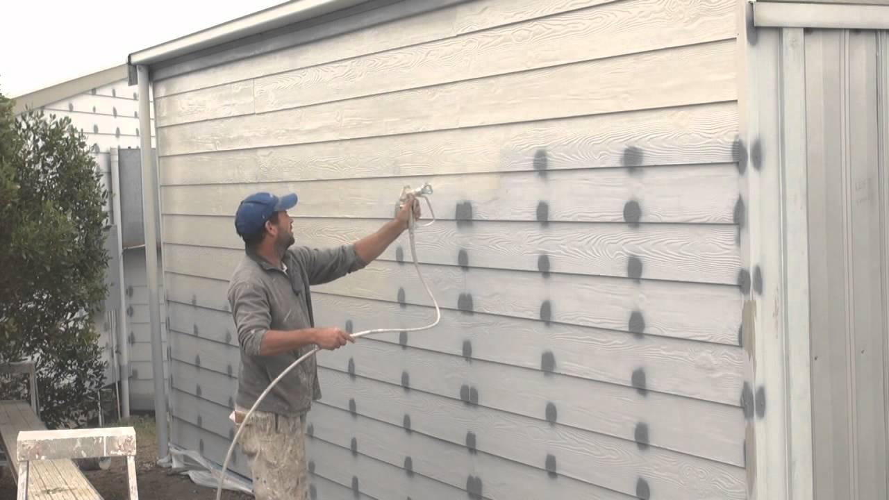 How To Spray Paint A House With A Paint Sprayer Sprayertalk