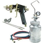 ATD Tools 16843 Pressure Pot Spray Gun and Hose Kit - 2 Quart