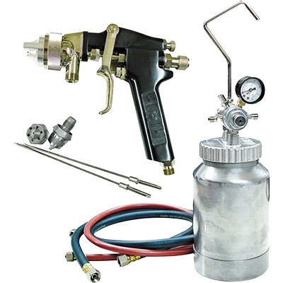 ATD Tools 16843 Pressure Pot Spray Gun and Hose Kit - 2 Quart