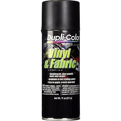 Dupli-Color HVP106 Flat Black High Performance Vinyl and Fabric Spray