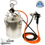 TCP Global Pressure Tank Paint Spray Gun