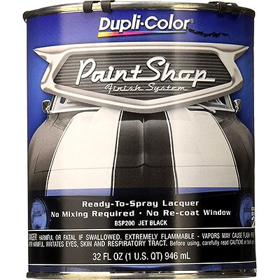 Dupli-Color BSP200 Jet Black Paint Shop Finish System